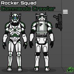 Star Wars Clone Wars, Star Wars Art, Star Wars Commando, Republic Commando, Star Wars Painting, Galactic Republic, Star Wars Models, Fallout New Vegas, Star Wars Images