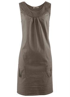 Vestido de Linho Marrom - Posthaus