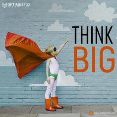 Are you ready to go big? We've got our gear on, let's fly! Get a Quote Now! ____________________________________________________ #OptimusFox #thinkbig #Think #digitalmarketingservices #digitalmarketingagency #marketing #digitalmarketing #development #softwaredevelopment #developmentservices #technology Free Quotes, Best Quotes, Think Big, Digital Marketing Services, Software Development, Quotations, Technology, Tech, Best Quotes Ever