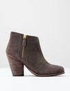 Zip High Heel Boot