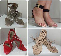 Masso Vita: Minhas  quatro sandálias favoritas