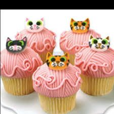 Image result for cat cupcakes ideas