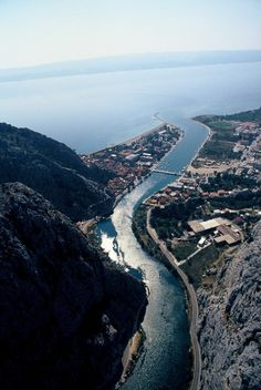 Omis is special in having the estuary of the river Cetina, in addition to the famous sand beach.  It's magnificent canyon is refreshing in a very hot summer days.