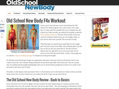 Old School New Body Review   Scam Or Does It Work? http://oldschoolnewbodyworks.com/