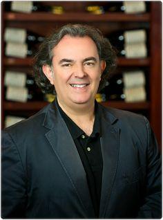 Foto oficial de Luis en 'The Wine Advocate'
