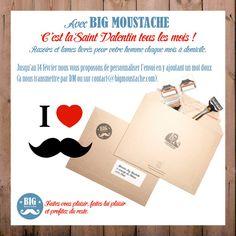 Big Moustache Saint Valentin