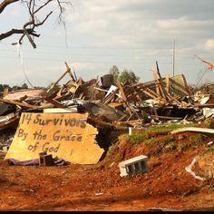 Tuscaloosa, AL April 2011 tornado. Taken by Emma Lewis