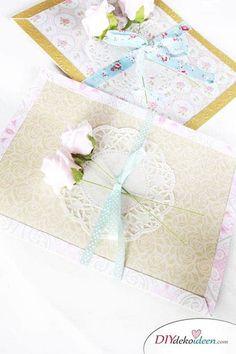 DIY Geschenkidee - Karten basteln zum Muttertag
