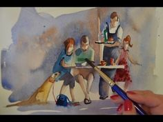Watercolour Figures Lesson - Simplifying Figures (Part 2) - YouTube