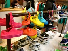 Rainbow Bensimon sneakers