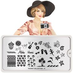 Enjoy new York City inspired stamping nail art plates and travel to London, Australia, France, Spain and all the way to Tokyo via your holiday nail art! Moyou Stamping, Nail Art Stamping Plates, Nail Art Diy, Diy Nails, Polish Holidays, London Nails, Nail Art Images, Image Plate, Holiday Nail Art