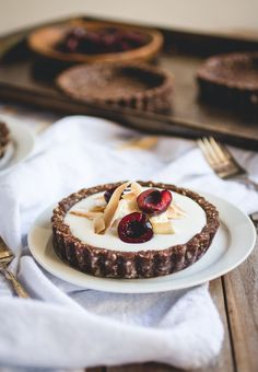 coconut pudding tart