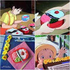 Studio Ghibli meals from the world of Japanese anime look absolutely delicious in real-life【Pics】 Food Cartoon, Ghibli Movies, Instagram Artist, My Neighbor Totoro, Animation, Food Themes, Miyazaki, Manga Art, Anime Art