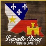LafayetteStrong merchandise is still available at Louisiana Hot Stuff with 100% of the proceeds being donated. Donate while you still have a chance. #LafayetteStrong #PrayForLafayette #ShopLafayette