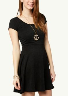 Knit Skater Dress | Casual | rue21