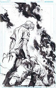 American Vampire #25 Page 2 by Rafael Albuquerque