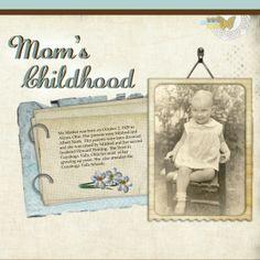 Mom's Childhood, pg. 2 ~
