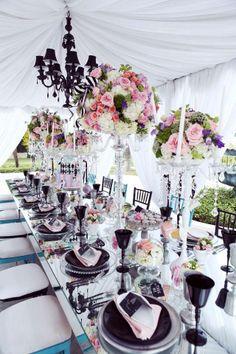 Matrimonio tema : coco chanel style - camelia lambru wedding planner roma