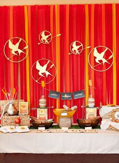 If you are looking for an unusual party theme for your teenager why not organize a party based around the book series The Hunger Games? This theme is quite fun to be creative with. If you are needing some inspiration why not check out our The Hunger Games Party Ideas?  #thehungergames #partyideas #birthdayparty