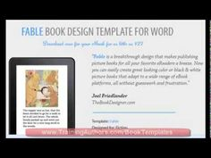 Children's eBook Template - How to Publish Children's Picture Books on Kindle