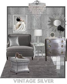"""""""Vintage Silver"""" by jennyblevins on Polyvore"""