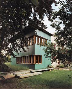 Morger & Degelo office; Trümphy-Meyer house extension (Morger Degelo + Prêtre), Basel 1991