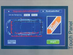 Innovatives Touchpanel www.technolit.de/abk #kfz #nfz #kraftfahrzeug #auto #wasserschaden