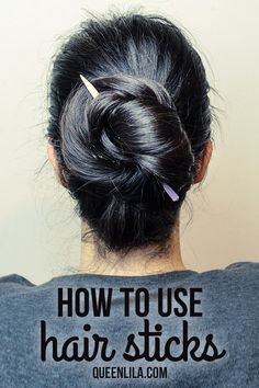 TUTORIAL | How to use hair sticks!