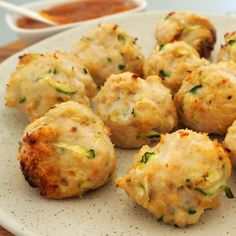 These Baked Chicken Zucchini and Cheese Balls make a great snack or easy meal for the whole family! They are freezer friendly and you can also enjoy them both hot or cold - perfect for lunch boxes! Both regular and Thermomix instructions included. Cheese Ball Recipes, Baby Food Recipes, Appetizer Recipes, Cooking Recipes, Party Appetizers, Thermomix Recipes Healthy, Potato Recipes, Vegetarian Recipes, Dessert Recipes