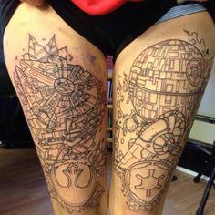 Tattoo --- Geek's DREAM tattoo!
