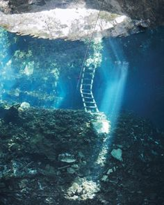 Plunge into Amazing Swimming Holes on the Yucatan Peninsula, Mexico The Maya believed that mysterious cenotes, ancient sinkholes scattered throughout the region, were an entryway into the underworld. Find out what really lies beneath by pulling on a mask and fins and slipping into the water.