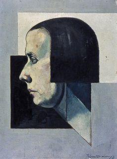 Theo van Doesburg, Portrait of Pétro, c. 1922