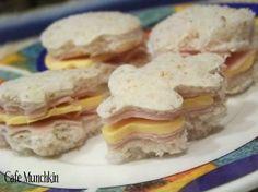 Finger sandwiches