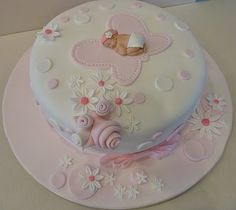 beautiful baby shower cakes | love making Baby Shower Cakes and I am glad it came out the way I ...