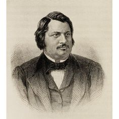 Honore De Balzac 1799-1850 French Writer From The Book The International Library Of Famous LiteraturePublished In London 1900 Volume Xiii Canvas Art - Ken Welsh Design Pics (14 x 16)