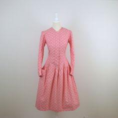 Vintage Drop Waist Dress