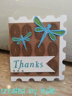 CTMH & Cricut thank you card