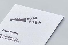 Visual identity design for the FAM FARA brand / by Grynasz Studio for FAM FARA / 2015