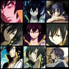 Zeref Collage by ~LemonLlama55532 on deviantART