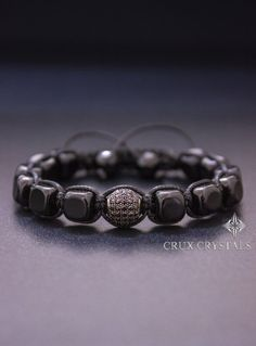 Hey, I found this really awesome Etsy listing at https://www.etsy.com/ru/listing/234379333/onyx-cube-black-onyx-bracelet-mens