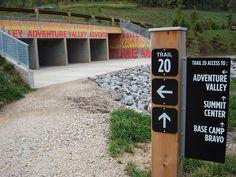 The Summit Bechtel Reserve BSA Site - Trail Signage / Stencil