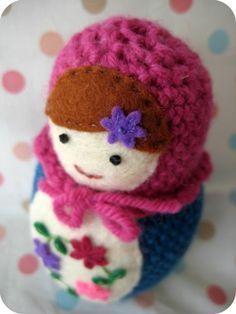 crochet Russian doll