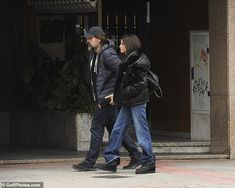 Lunch date: The actress, looked fresh-faced as she and Javier, celebrated at a veg. Javier Bardem, Penelope Cruz, Fresh Face, Madrid, Dating, Husband, Lunch, Actresses, Actors
