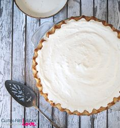 Gluten-Free Vegan Nutella Cream Pie Recipe {also Paleo & Refined Sugar-Free}