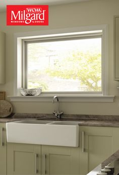Kitchen Windows Fridge 105 Best Window Ideas Images In 2019 Bring The Natural Light To Your Farmhouse With A Big Picture Underneath Farm Sink See This And More Our Photo