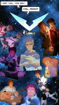 I've made a Lance aka  Klance wallpaper :) Hope you like it ;>