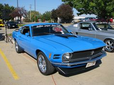 1970 Ford Mustang Fastback, I like the color