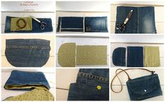 Trasformare un jeans in una pochette