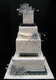 sparkly cake