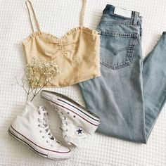 Shared by vodkabitchess. Find images and videos about converse, fashion and outfit on We Heart It - the app to get lost in what you love.